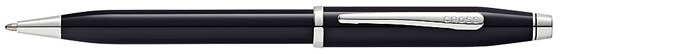 Cross Ballpoint pen, Century II series Black lacquer Ct
