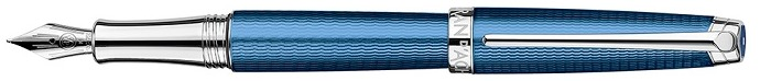 Caran d'Ache Fountain pen, Léman Grand Bleu series Blue