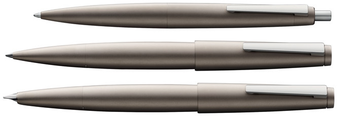 Lamy Set fountain pen & ballpoint & rollerball, 2000 Black Amber Limited Edition series