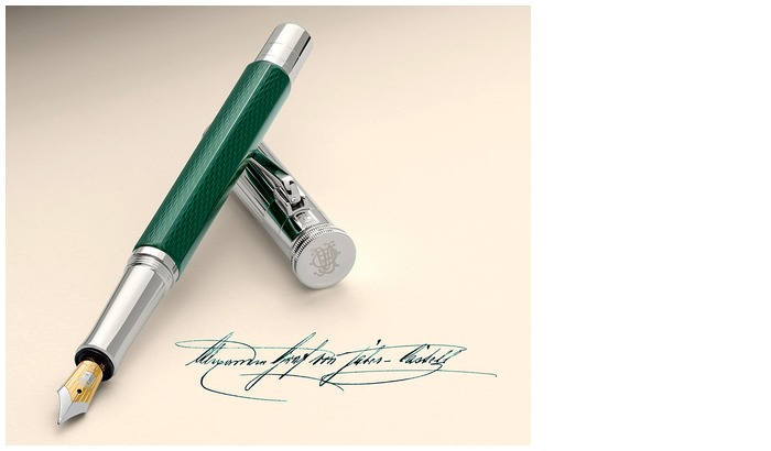 Faber-Castell, Graf von Fountain pen, Heritage Limited Edition series Alexander (Green)