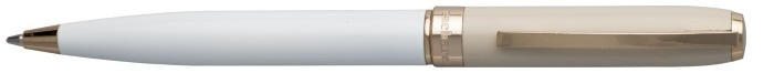 Cacharel Ballpoint pen, Bird series White/Beige GT