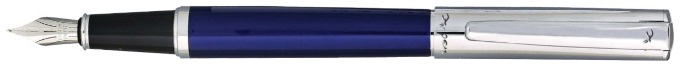 X-Pen Fountain pen, Paradise series Blue/Chrome