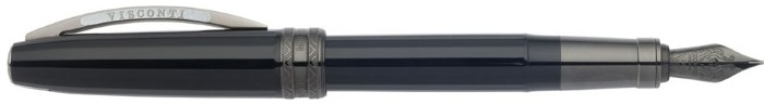 Visconti Fountain pen, Michelangelo series Back to Black