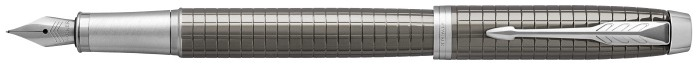 Parker Fountain pen, IM Premium Essential series Dark grey CT (Dark Espresso Chiselled)