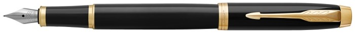 Parker Fountain pen, IM Essential series Black lacquer GT