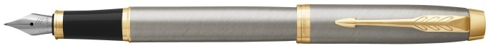 Parker Fountain pen, IM Essential series Brushed metal GT