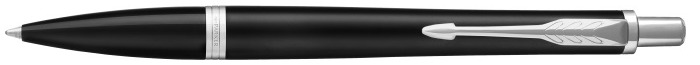 Parker Ballpoint pen, Urban Stylish series Black matte CT (Muted Black CT)