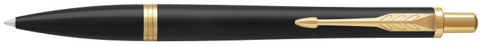 Parker Ballpoint pen, Urban Stylish series Black matte GT (Muted Black GT)