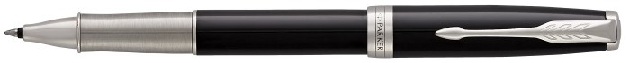 Parker Roller ball, Sonnet Classic series Black lacquer CT (Premium, silvered grip)