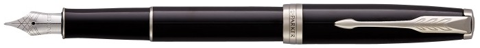 Parker Fountain pen, Sonnet Classic series Black lacquer CT (Stainless steel nib)