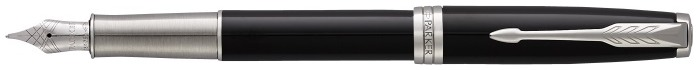 Parker Fountain pen, Sonnet Classic series Black lacquer CT (18K gold nib)