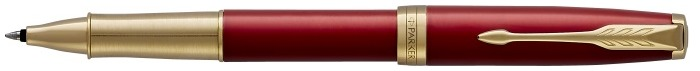 Parker Roller ball, Sonnet Classic series Red GT (Premium, golden grip)
