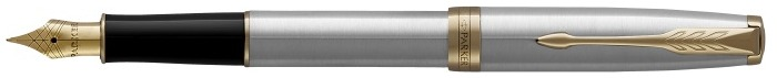 Parker Fountain pen, Sonnet Classic series Stainless steel GT