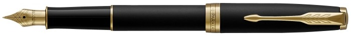 Parker Fountain pen, Sonnet Classic series Black matte GT