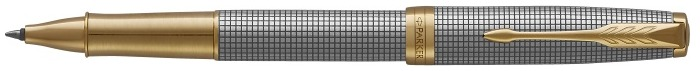 Parker Roller ball, Sonnet Prestige Classic series Chiseled Silver GT