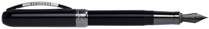 Visconti Fountain pen, Rembrandt series Black (Back to Black)