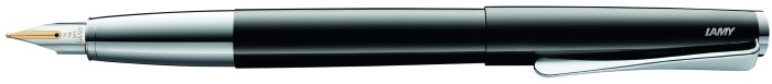 Lamy Fountain pen, Studio series Black lacquer (Piano) 14kt gold nib