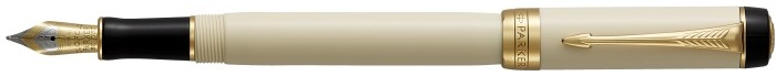 Parker Fountain pen, Duofold Classic series Ivory GT (International)