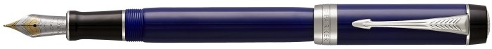 Parker Fountain pen, Duofold Classic series Blue CT (Centennial)