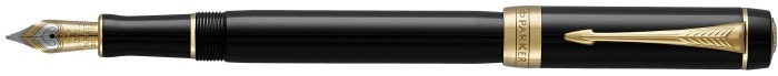 Parker Fountain pen, Duofold Classic series Black GT (International)