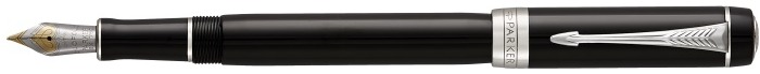 Parker Fountain pen, Duofold Classic series Black CT (International)