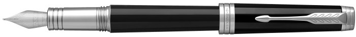 Parker Fountain pen, Premier series Black lacquer CT