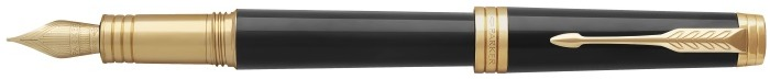 Parker Fountain pen, Premier series Black lacquer GT