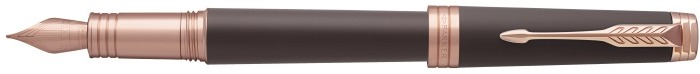 Parker Fountain pen, Premier series Brown PGT