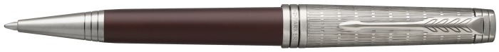 Parker Ballpoint pen, Premier Custom series Red/Ruthenium