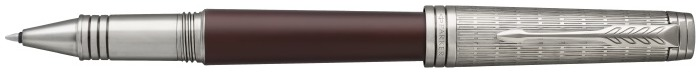 Parker Roller ball, Premier Custom series Red/Ruthenium