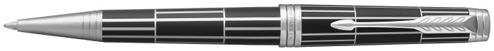 Parker Ballpoint pen, Premier Luxury series Black Matte/Palladium