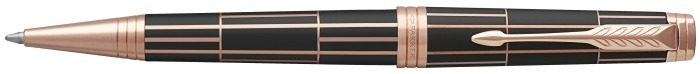 Parker Ballpoint pen, Premier Luxury series Brown matte/Rose gold