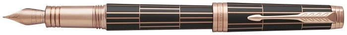 Parker Fountain pen, Premier Luxury series Brown matte/Rose gold