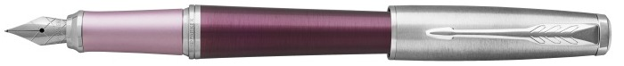 Parker Fountain pen, Urban Premium Stylish series Brushed dark purple CT