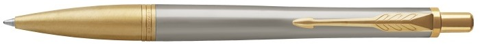 Parker Ballpoint pen, Urban Premium Stylish series Grey GT (Aureate Powder)