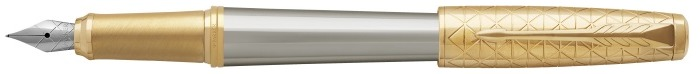 Parker Fountain pen, Urban Premium Stylish series Grey GT (Aureate Powder)
