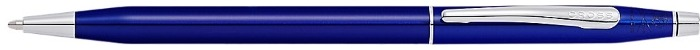 Cross Ballpoint pen, Classic Century series Blue lacquer CT