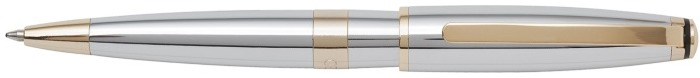 Cerruti 1881 Ballpoint pen, Bicolore series Chrome Gt