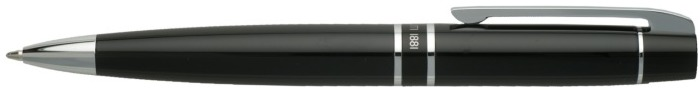 Cerruti 1881 Ballpoint pen, Editorial series Black lacquer Ct