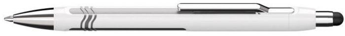 Schneider Stylus for touchescreen (iPad), Epsilon Touch series White & Silver
