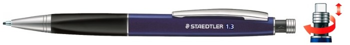 Staedtler Mechanical pencil, Graphite 760 series Blue (1.3mm)