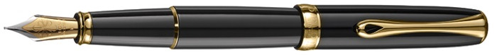 Diplomat Fountain pen, Excellence A² series Black GT