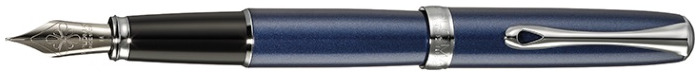 Diplomat Fountain pen, Excellence A series Midnight blue CT