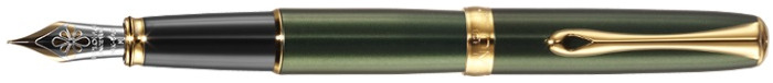 Diplomat Fountain pen, Excellence A series Green GT