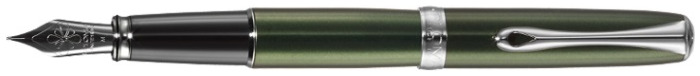 Diplomat Fountain pen, Excellence A series Green CT