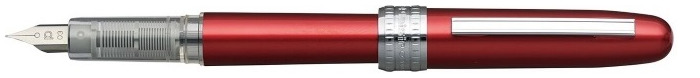 Platinum Fountain pen, Plaisir series Red