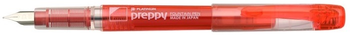 Platinum Fountain pen, Preppy series Red