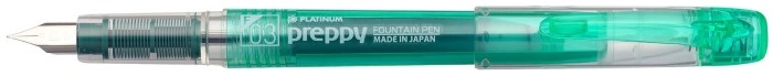 Platinum Fountain pen, Preppy series Green
