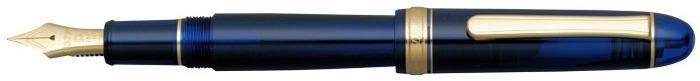 Platinum Fountain pen, 3776 Century series Blue GT