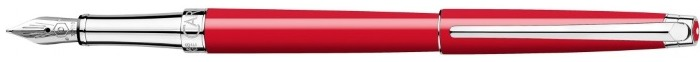 Caran d'Ache Fountain pen, Léman Slim series Scarlet red CT
